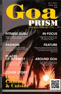 Goa Prism VOL 7 Issue 3 Cover Page
