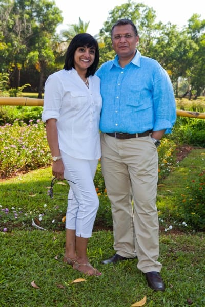 Ashwathy and Thomas Abraham - General Manager Park Hyatt Goa Resort and Spa