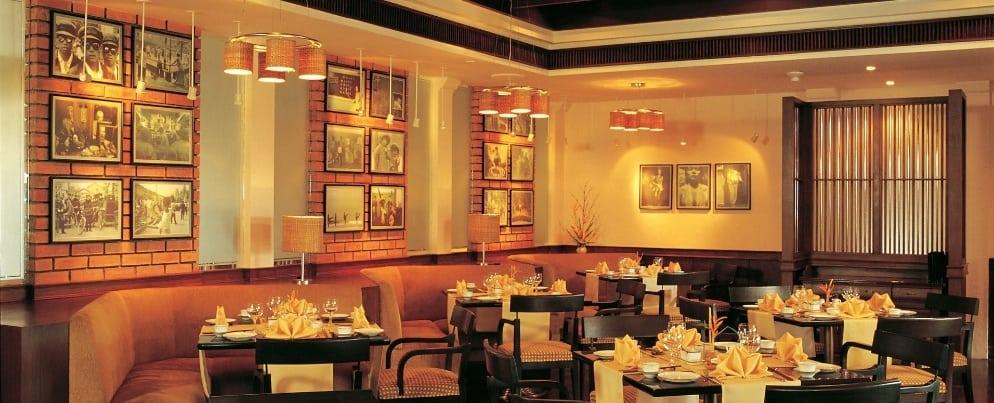 Li Bai Oriental Restaurant at taj exotica