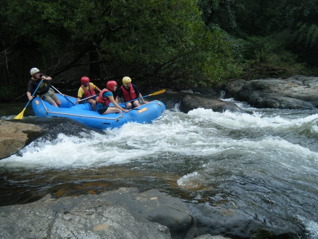 White water rafting on river Mhadei 2