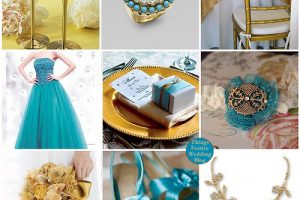 Turquoise & Gold