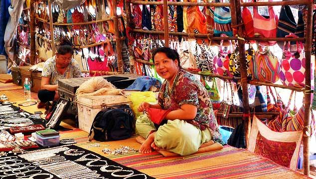 Calangute-Bazaar-flea-market