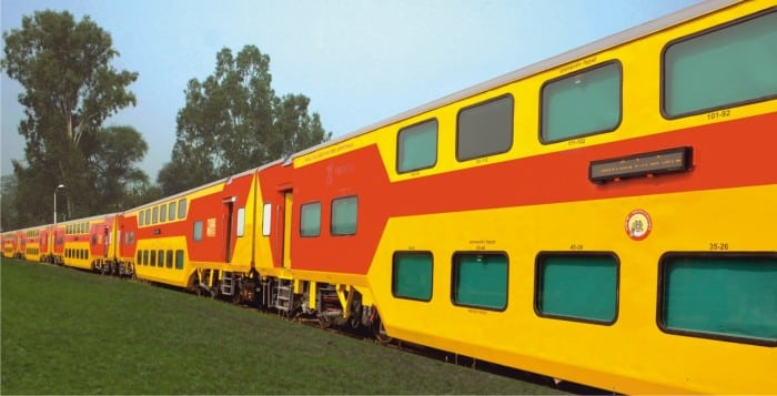 Indian-Double-Decker-Train