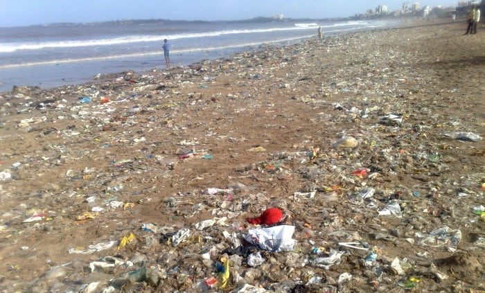 goa-beach-pollution