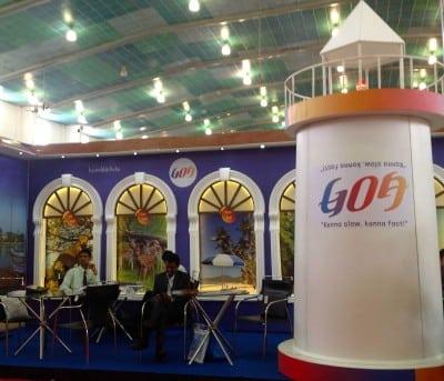 Goa Tourism stall at TTF, Ahmedabad