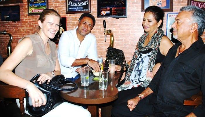 Jurate Bitinaite, Lyndon Alves, Devika & Suresh Bhojwani