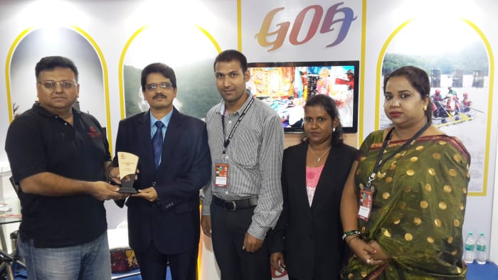Goa Tourism bags 'Best Decorated Stand National' at IITM once again, this time in Mumbai
