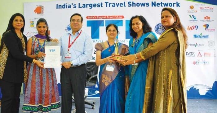 Goa Tourism receives the Best Designed Award at TTF, Surat