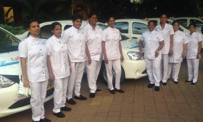 Goa-Women-Taxi-Service-drivers