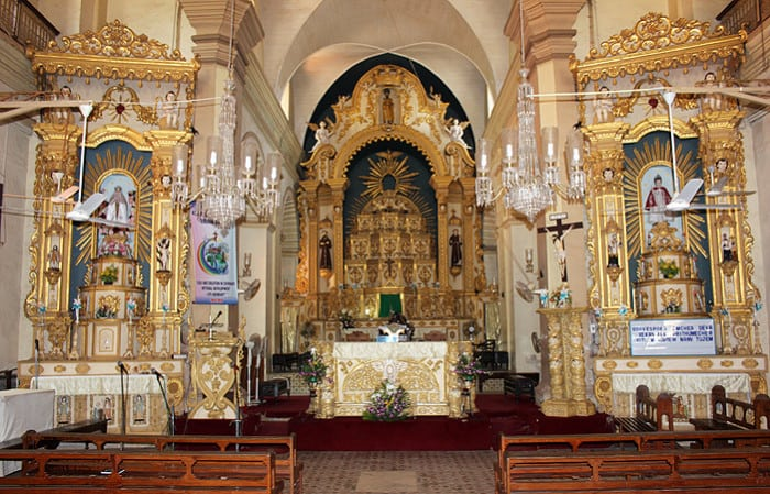 Calangute Church Altars -- by Joel's Goa Pics