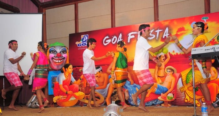 Cotti Fugdi - traditional Goan dance