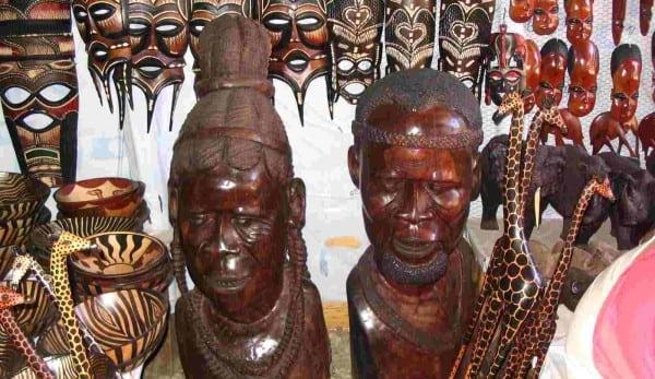 African_Arts_Wood_Carvings_paintings