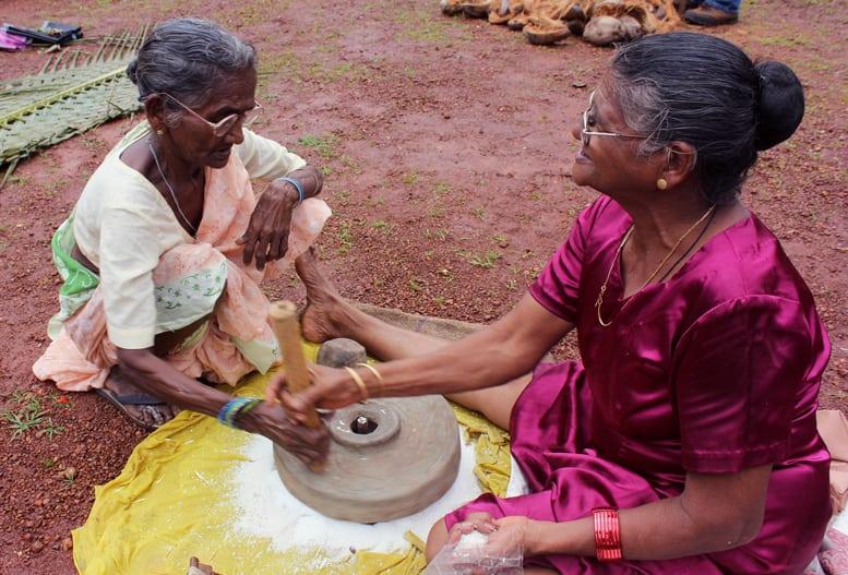 Dantem, the Goan grinding-stone