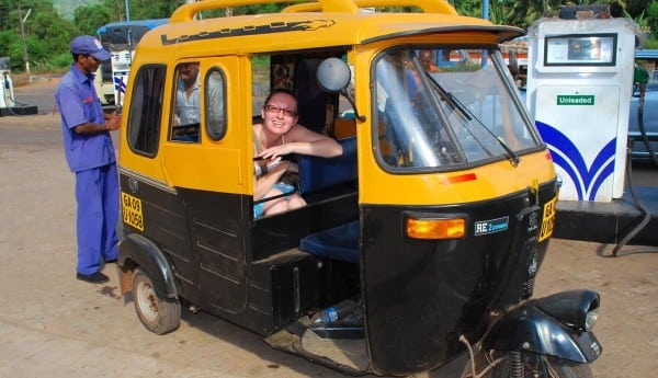 goa taxi service tuktuk