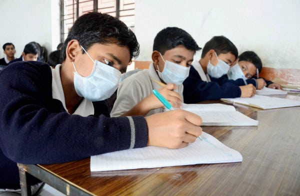 Swine flu in Allahabad college