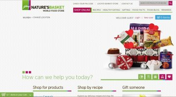 Godrej Nature's Basket Partners with Amazon.in