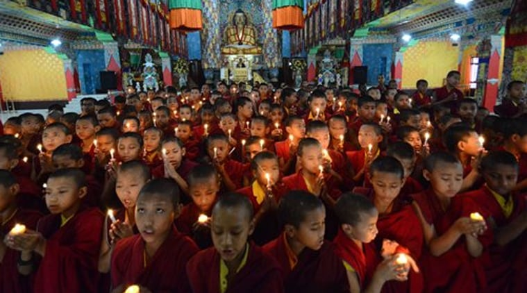 """People in Nepal praying for the speedy recovery of the nation from the disaster """"LETS ALL PRAY FOR THEM"""""""
