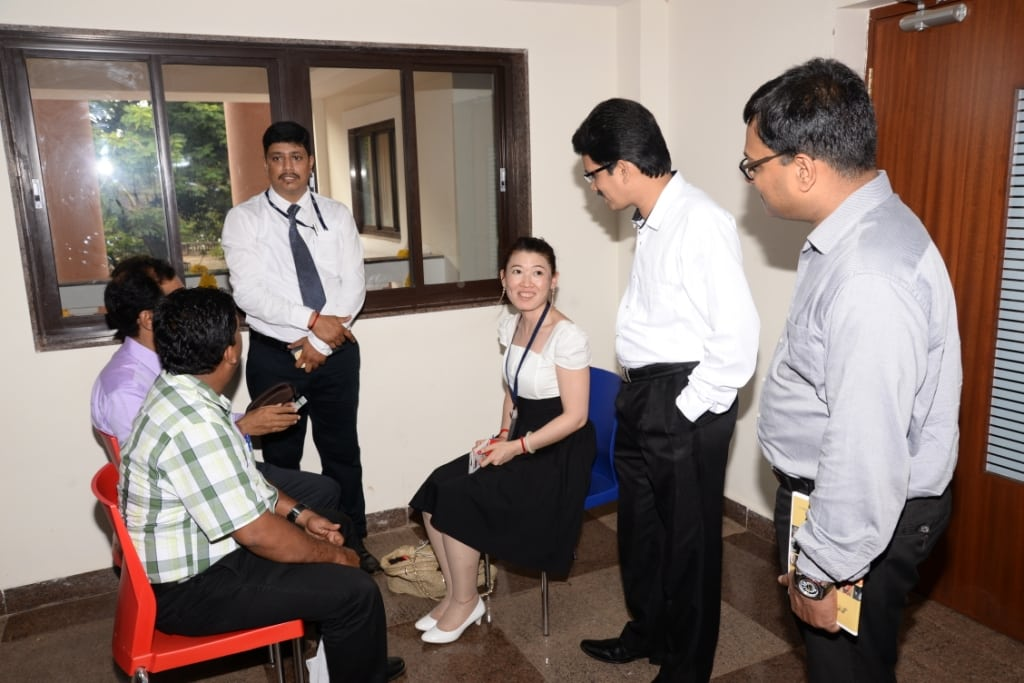 Goa Tourism officials introducing Goan Trade members to Chinese Travel Agents