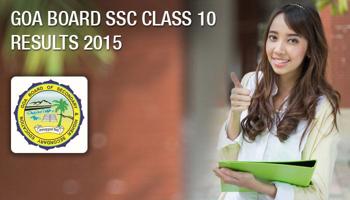SSC Result 2015 declared online on goaresults nic in