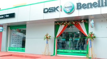 """Another Superbike """"Benelli' opens the showroom in Goa"""
