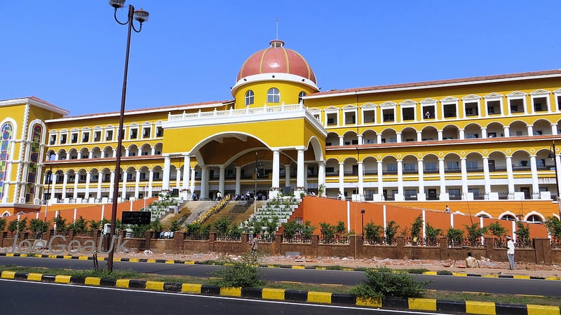Every flat owner is entitled to a proportionate share of the ground on which the building in which he has a flat has come up. Ensure that your name has been included in the revenue records, office of the South Goa collectorate which houses the office of the registrar of land records for South Goa.