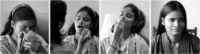 """LET THE THINGS ROLLING.... While talking about Kamla and her transformation Mandeep said """"I don't know if this shoot will change her life. I know that she cherishes the experience."""""""