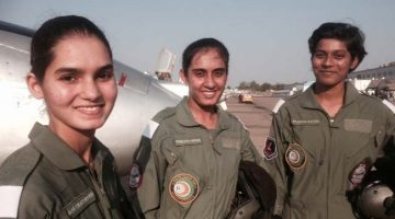 India will witness its first three women fighter pilots On June 18