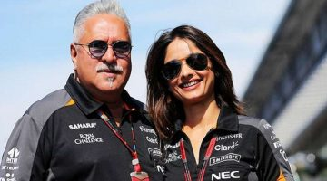 Vijay Mallya's girlfriend Pinky stands by him in his difficult times
