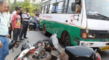 Goa roads are not sufficient enough to handle 1 million vehicles