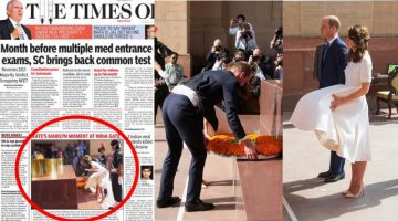 Buzzfeed addressed Time of India as 'A Sexual Harasser' in Newspaper form