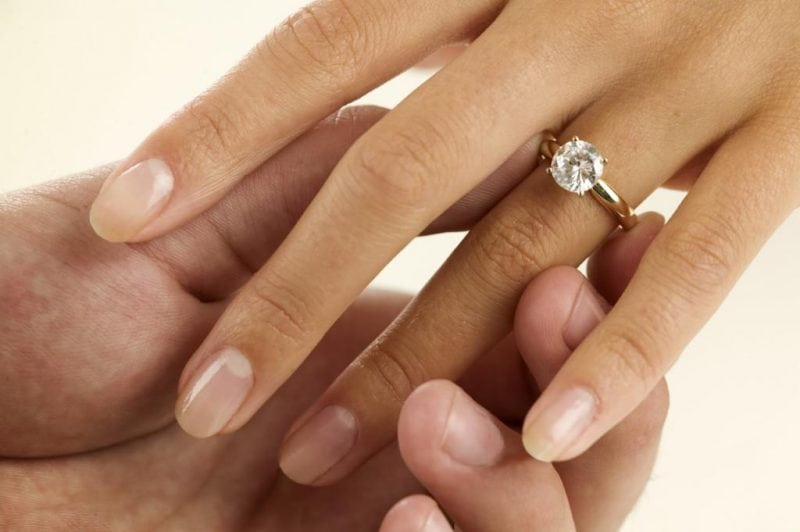 Why Engagement Rings are on the left hand finger