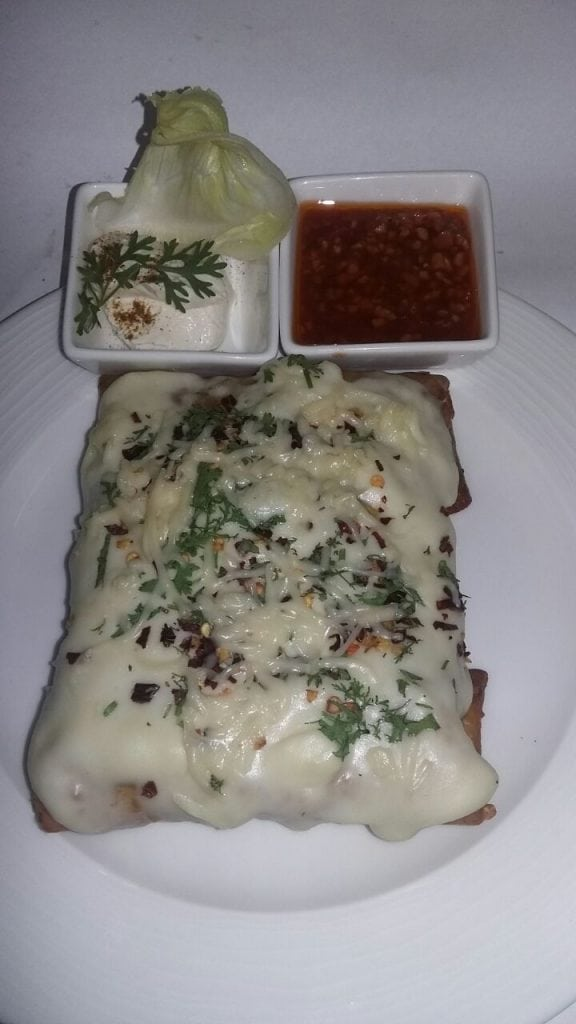 Mexican Dish Chimichangas