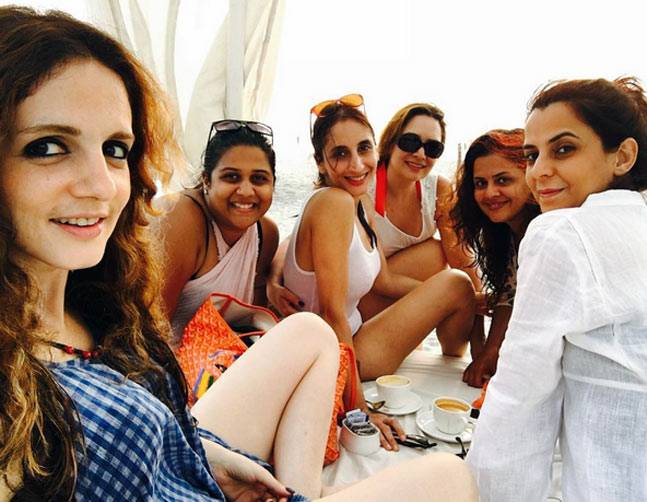 Sussanne Khan in Goa