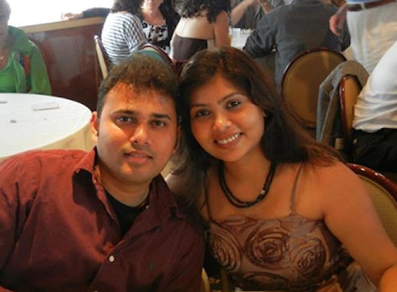 Indian Family accident in USA 1