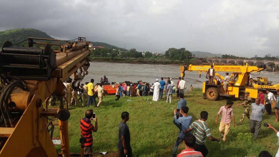 Mahad Accident Bus 2