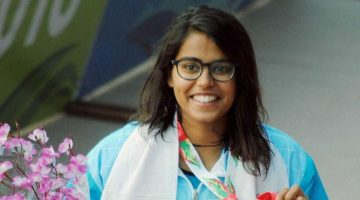 India's Shivani Kataria Finishes at 2nd place in 200m freestyle swimming at Rio Olympics