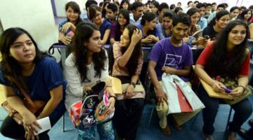 Student's breath in fear and anxiety as last moment change in MBBS admission shocks them