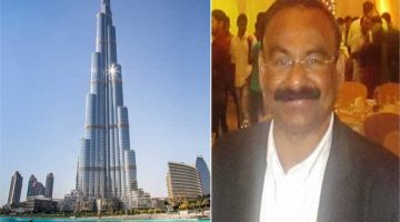 An Indian mechanic owns twenty two apartments in Burj Khalifa in Dubai