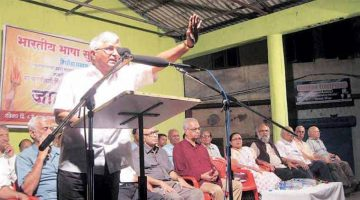 The Sangh controversy comes to an end as the sacked RSS chief Velingkar reinstate himself