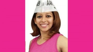 """""""I am ready to face the dirt!! Dirt will always be there, we have to clean it up"""" says Taleigao AAP Candidate Cecille Rodrigues"""