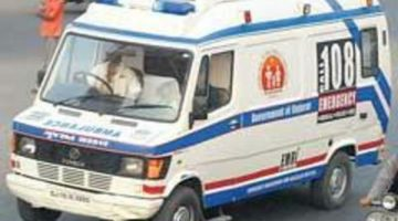 Breakdown of 108 ambulance caused death  of accident victim while battling for life but EMRI refutes the allegations