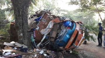 Deadly Accident in Chinchinim South Goa, truck hits biker 3 died