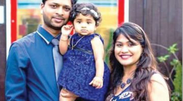 Goan origin couple along with one-and-half year old, battles for life in after fire engulfed their apartment in UK