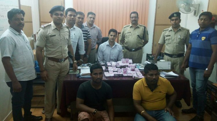 Crime Branch Caught two with 2000 rupees notes worth 70 Lakh in Porvorim, total 1.5 crore seized from various locations in Goa