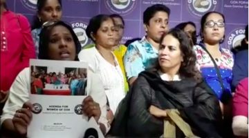 Former AAP Women Cell Coordinator Takes over as Goa Forward Women's Wing convenor