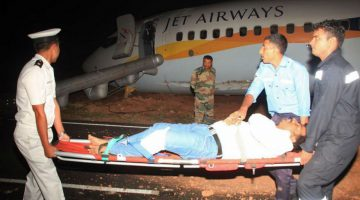A Shocking Ordeal of the Jet Airways Passenger inside Aircraft when it skid on the runway while taking off