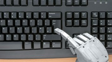 MACHINES TO REPLACE THE HUMANS IN JOURNALISM, FIRST NEWS ARTICLE PUBLISHED