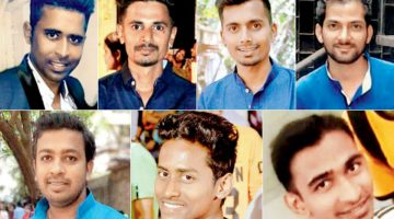 Goa Tragic Accident – Funeral of Seven Boys Died in Accident on Mumbai – Goa Highway Gets Adieus from more than 4000 people in Mumbai