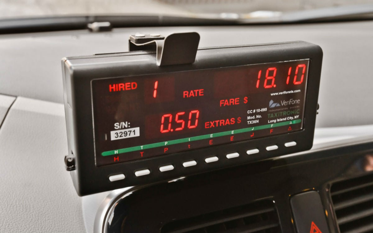 Taxi Meters Purchase : Taxi meters in goa are purposely kept on hold by