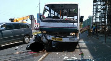 DEADLY ACCIDENT AT DABOLIM GOA – A 31-YEAR-OLD YOUTH CRUSHED TO DEATH UNDER THE WHEELS OF MINI-BUS, NEAR GOA AIRPORT